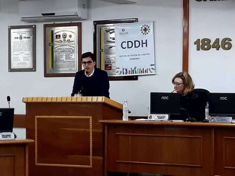 Manifesto do Centro de Defesa de Direitos Humanos (CDDH)