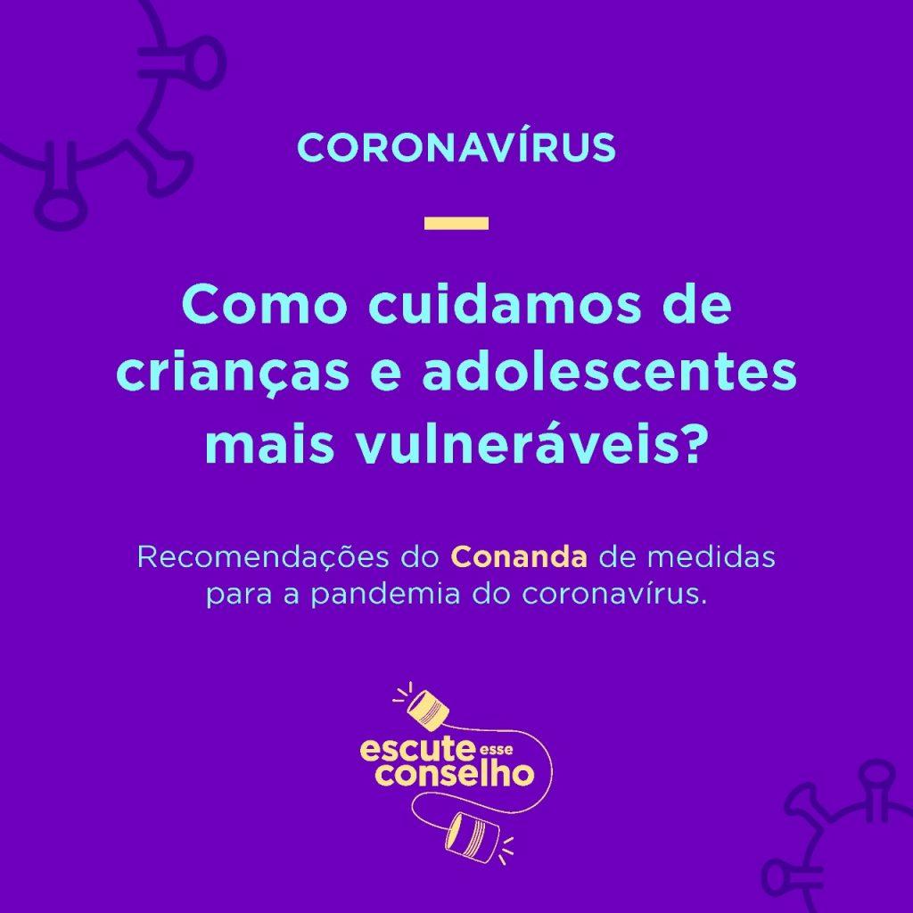 Crianças e adolescentes e coronavírus