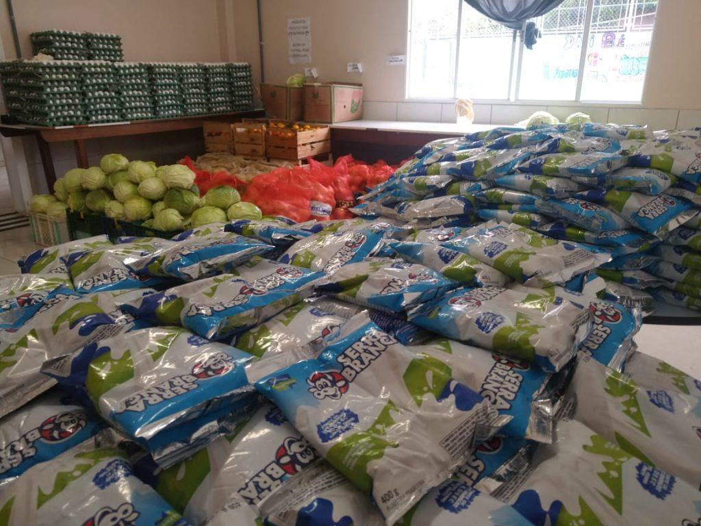 Parceria entre COL, Proame e EST beneficia 150 famílias
