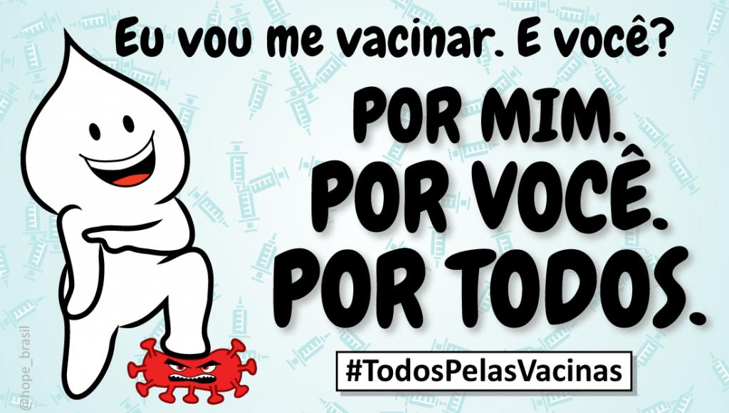 Covid-19: Todos pelas Vacinas reúne organizações e entidades científicas em ações pró vacinação