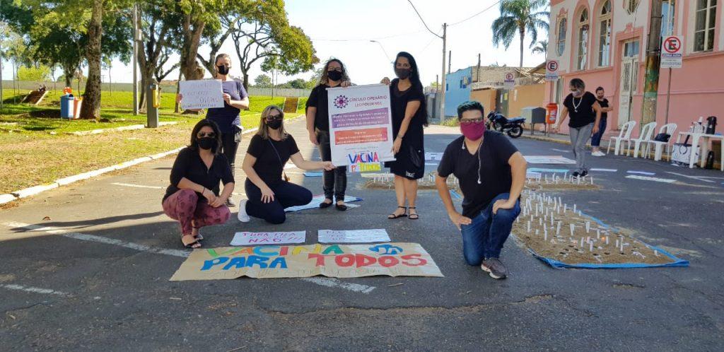 Grito Silencioso pela Vida: COL participa de homenagem às vítimas da Covid em SL